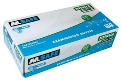 M-Safe 4520 disposable nitril handschoen - 7/s