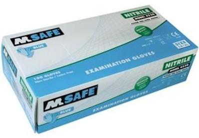 M-Safe 4530 disposable nitril handschoen - 7/s
