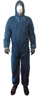 Overall polypropyleen ca. 45 grams - marineblauw - l