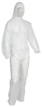 OXXA Cover 6110 overall - wit - m