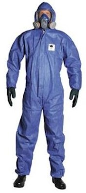 Disposable SMS overall Type 5/6 - blauw - xl