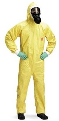 DuPont Tychem 2000 C overall - l
