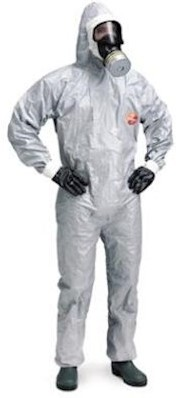 DuPont Tychem 6000 F overall - grijs - m